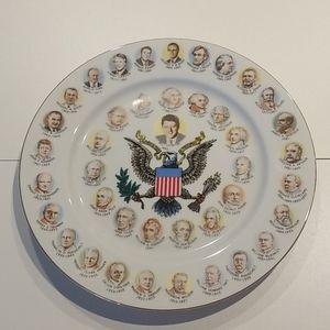 Bill Clinton Presidential wall plate